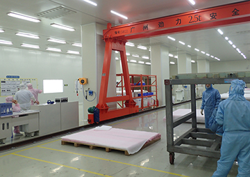 Clean room in China Plant